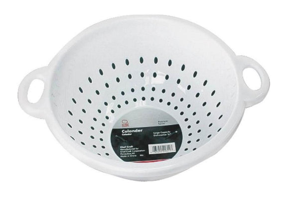 "Chef Craft 21311 Deep Colander, 11"" x 5"""