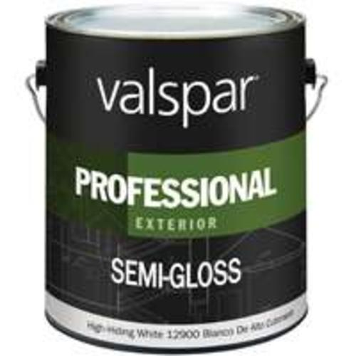Valspar 045.0012900.007 Professional Exterior Latex Paint, White