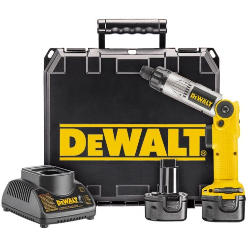 Dewalt DW920K-2 Cordless Two-Position Screwdriver Kit, 7.2 Volt