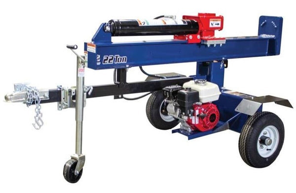 Brave BHVH2213GX Vertical And Horizontal Log Splitter, 22 Ton