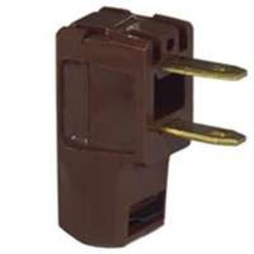 Cooper Wiring BP2600-6B-L Thermoplastic Super Plug, Brown