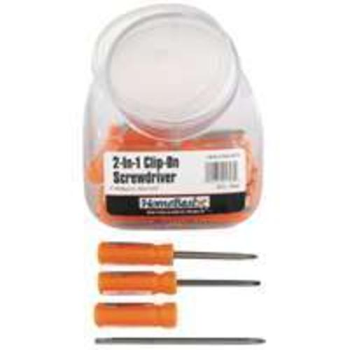 "Toolbasix W9843L 2-N-1 Clip-On Screwdriver 3/16"", 30 Piece"