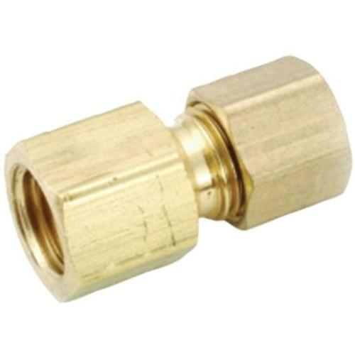 "Anderson Metal 754822-0606 Brass Flare Fitting 9/16""x3/8"""