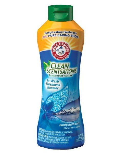 Arm & Hammer 00144 Clean Sensations Purifying Waters In-Wash Freshness Booster, 24 oz