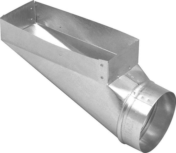 "Imperial GV0650 Duct End Boot, 3-1/4"" x 10"" x 4"""