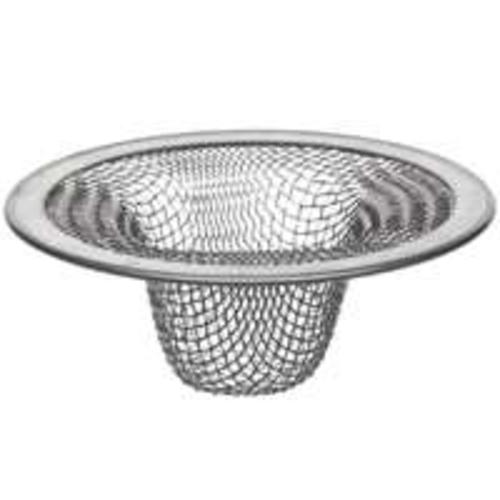 "Danco 88820 Mesh Lavatory Sink Strainer 2"" Stainless Steel"