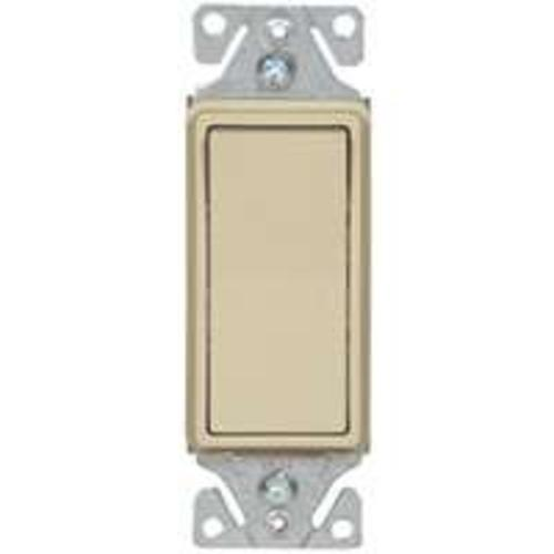 Cooper Wiring C7503V-SP 3-Way Switch Metal Strap, Ivory, 15 Amp