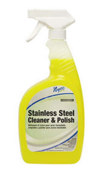 Nyco NL887-Q6PS Stainless Steel Cleaner & Polish, 32 Oz
