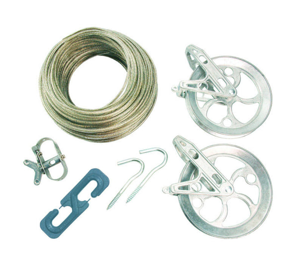 Ben-Mor CS79180 Strata Super Heavy Duty Clothesline Kit, 150'