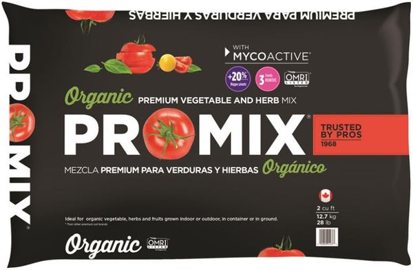 Premier Horticulture 1020051RG Organic Premium Vegetable & Herb Mix