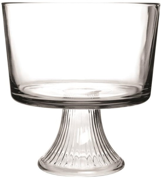 Anchor Hocking 86605L13 Monaco Glass Trifle Bowl