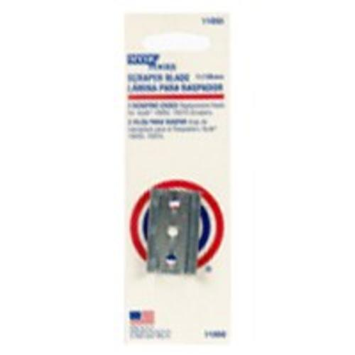 Hyde 11050 Carbon Steel 2 Edge Paint Scraper Blades, 1.5""