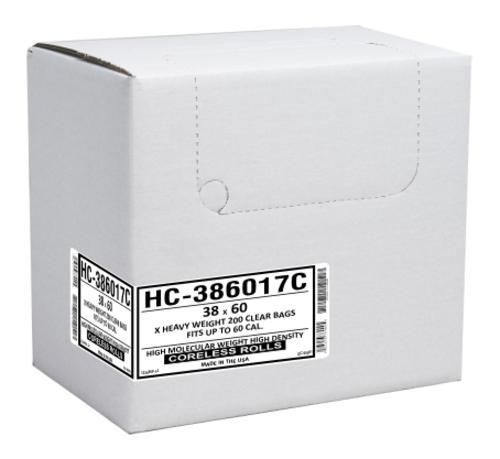 Aluf Plastics HC-434816C High Density Commercial Can Liner, 56 Gallon