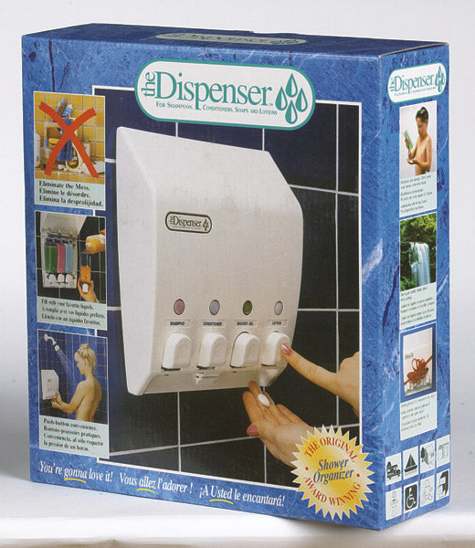 Better Living 71450 The Classic Dispenser, 4 Chamber