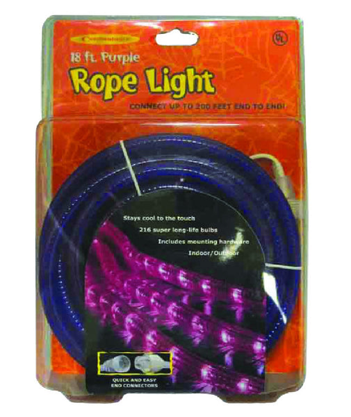 Celebrations 1T412NA1 Halloween LED Rope Light, 18 Feet  L
