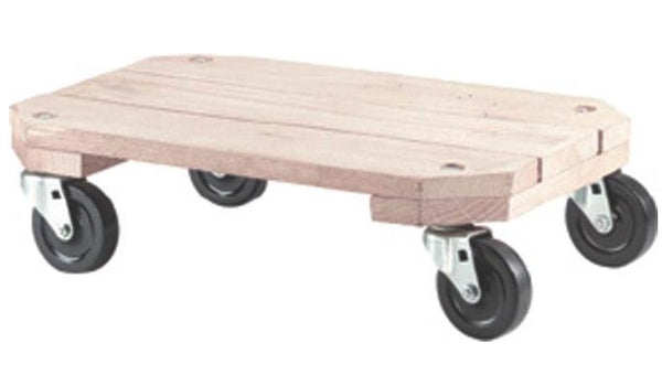 "Shepherd Hardware 9854 Wooden Movers Dolly, 12-1/2"" x 18-1/4"""