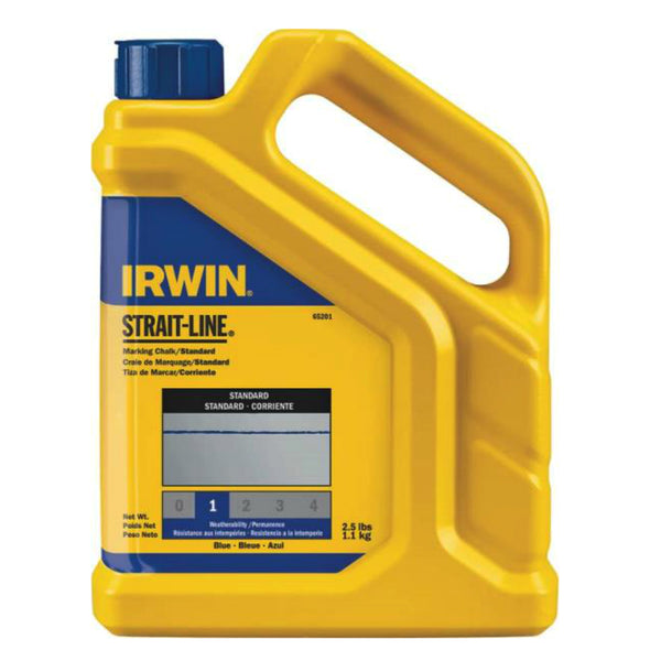 Irwin 65201 Marking Chalk, 2.5Lb, Blue