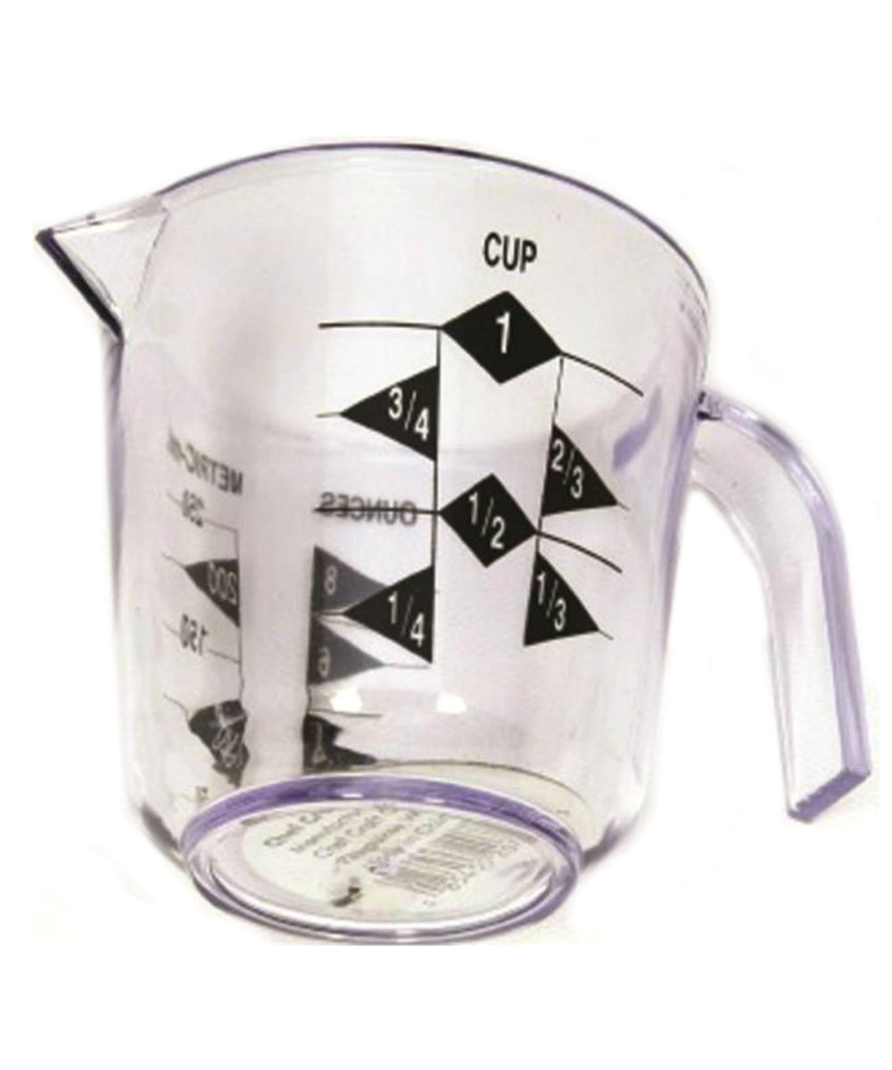 Chef Craft 20789 Measuring Cup, 1 Cup, 8 Oz.