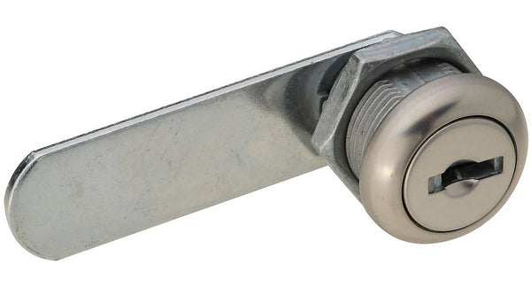 "National Hardware N183-756 Door/Drawer Utility Lock, 1/4"", Chrome Plated"