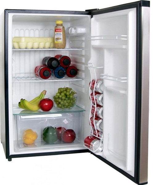 Bull 11001 Stainless Steel Refrigerator, 4.5 cu. ft
