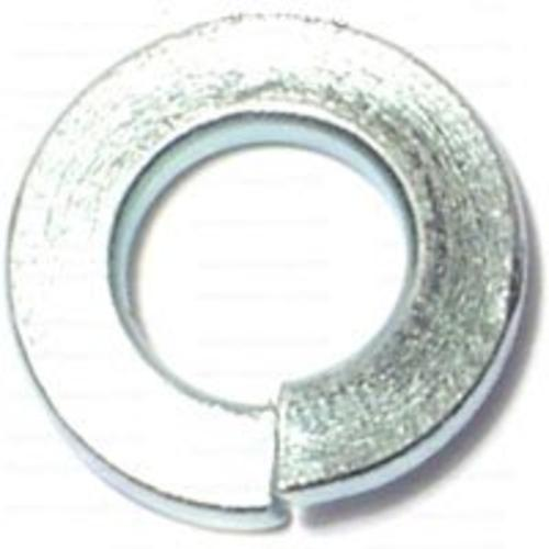 "Midwest 21463 Split Lock Washer 1/4"", Zinc Plated"