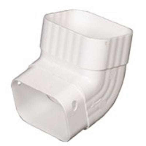 Amerimax M0627  Downspout Elbow, White