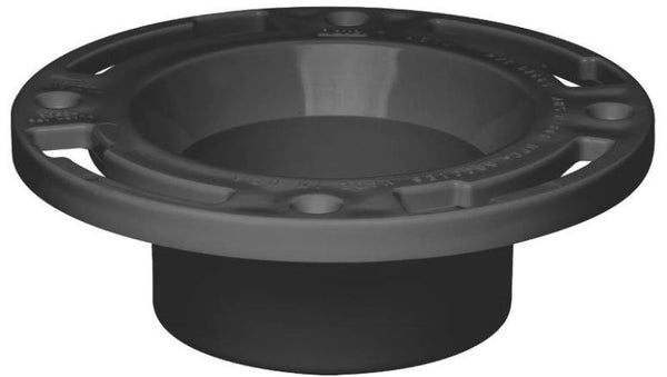 Oatey 43506 ABS inside Fit Closet Flange with Test Cap, 3""