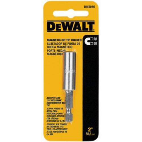 DeWalt DW2046 Impact Ready Magnetic Bit Tip Holder, 2""