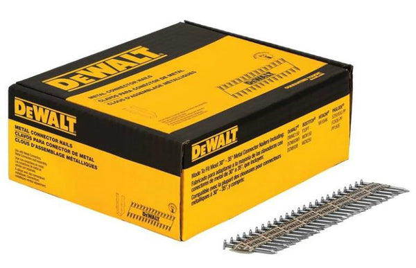 "DeWalt DMC14815B.5M Metal Connecting Nails, Bright, 1-1/2"" x 0.148"""
