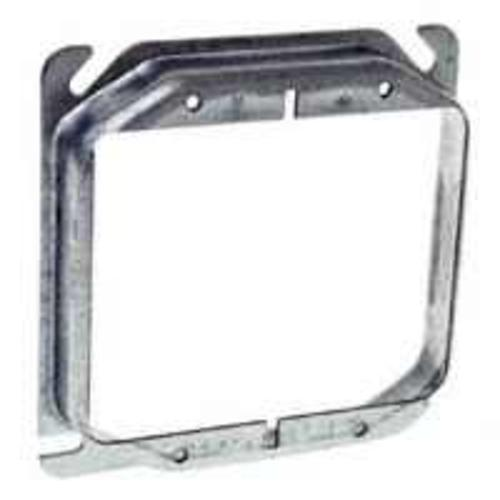 Raco 780 Raised Square Box Covers, 2 Gang, 4""