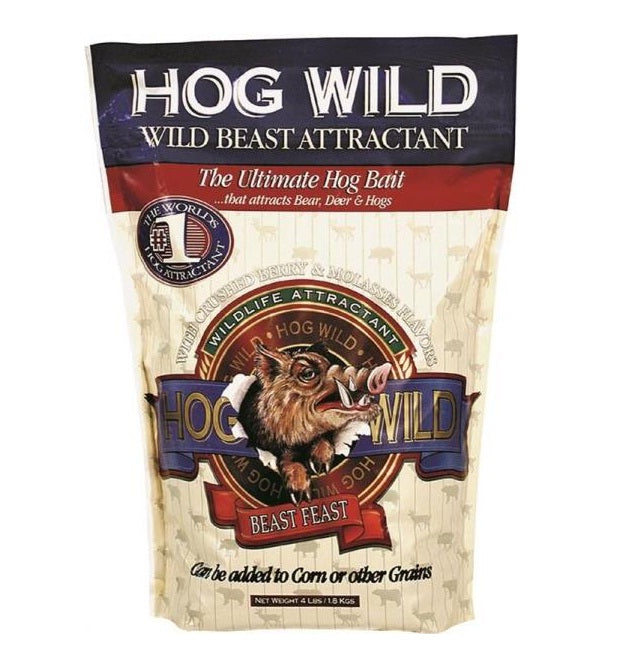 Evolved Habitat 34094 Hog Wild, Wild Beast Attractant, 4 Lb
