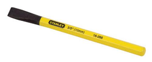 "Stanley 16-286 Flat Cold Chisel, 3/8""x5-9/16"""