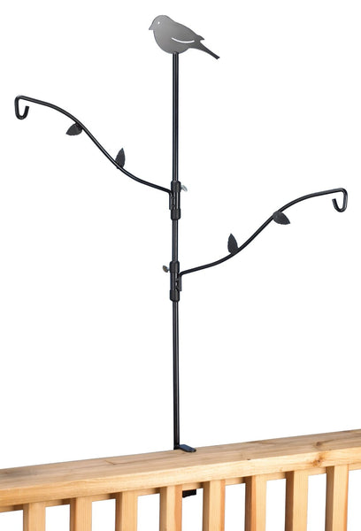 Stokes Select 38099 Solid Steel Bird Feeder Deck Kit with Adjustable Branches