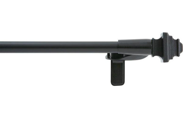 "Kenney KN80019 Twist and Fit Curtain Rod, 28""-48"""