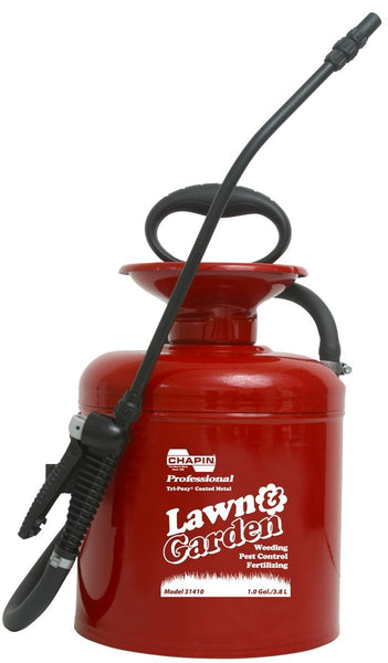 Chapin 31410 Tri-Poxy Steel Lawn & Garden Sprayer, 1 Gallon