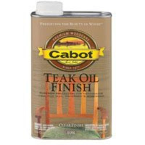 Cabot 144.0008098.005 Teak Oil Finish, Quart