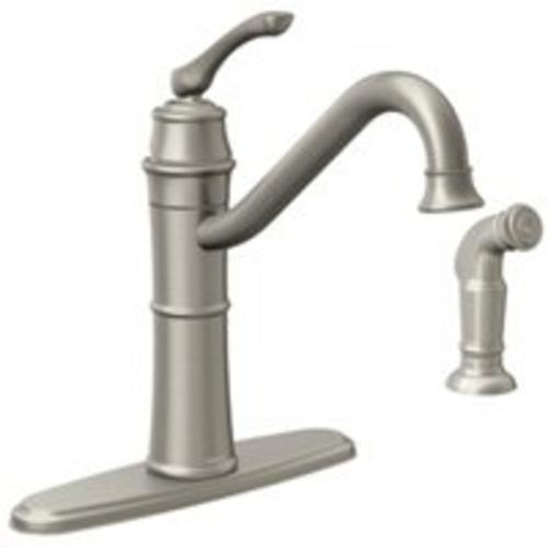 Moen 87999SRS One-Handle High Arc Spot Resist Kitchen Faucet, Stainless