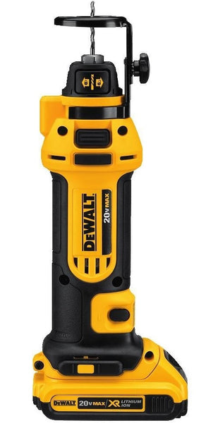DeWalt DCS551D2 Cordless Drywall Cut-Out Tool Kit, 20 Volt
