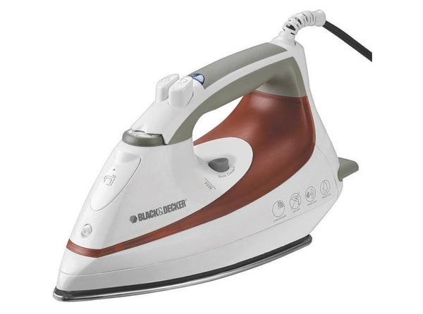 Black & Decker IR1070S-3 Smart Steam Iron, 1200 Watt, Stainless Steel