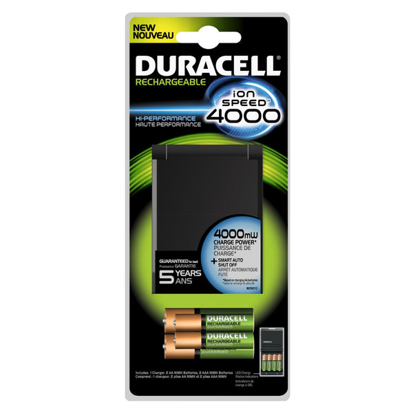 Duracell 66105 Battery Charger, AA