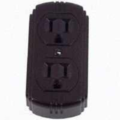 Cooper Wiring 78B-BOX 3Wire Duplex Receptacle 15A Brown