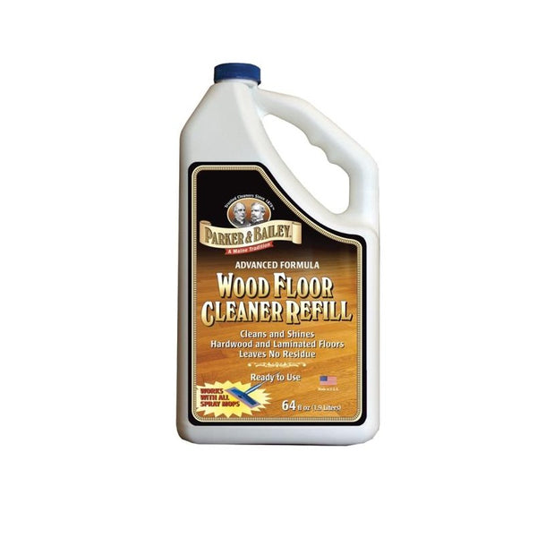 Cleaning Fake Wood Floors: Parker & Bailey 640008 Wood Floor Cleaner Refill, 64 Oz