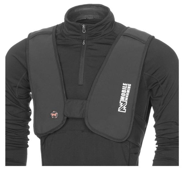 Mobile Warming MW14U08-2 BLK Heated Vest, Large & X-Large