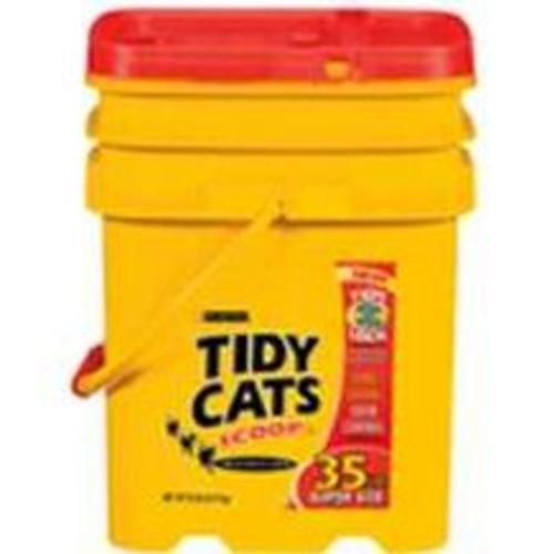 Tidy Cats 7023001669 Scoop Pail Cat Litter 35 lbs