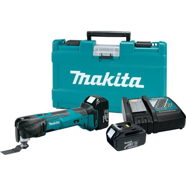 Makita XMT035 LXT Lithium-Ion Cordless Multi-Tool Kit, 18-Volt