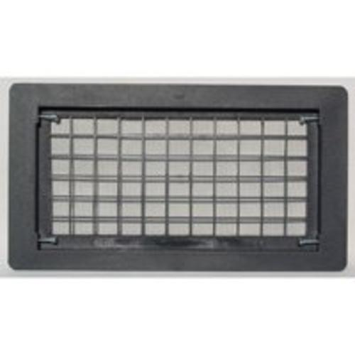Witten Automatic Vent 510BL Open Air Grille Foundation Vent, Black Oxide