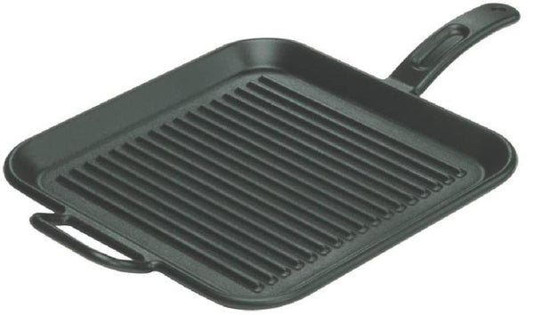 Lodge P12SG3 Pro Logic Square Griddle, 12""