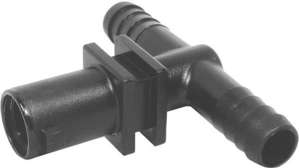 "Green Leaf  Y8231009 2PK nozzle body tee, 1/2"" barb"