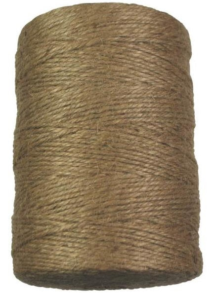 Ben-Mor 60578 Jute Twine, 3 Strands Large, 1110', Brown