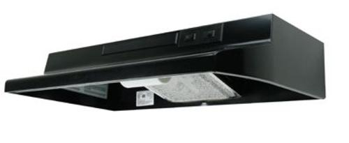 "Air King AV1306 Convertible Range Hood, 30"", Black"